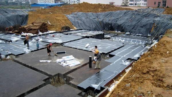 正确的PVC防水卷材的施工方法